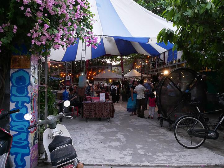 タオディエンの観光(レストラン、ショップ、エステ)