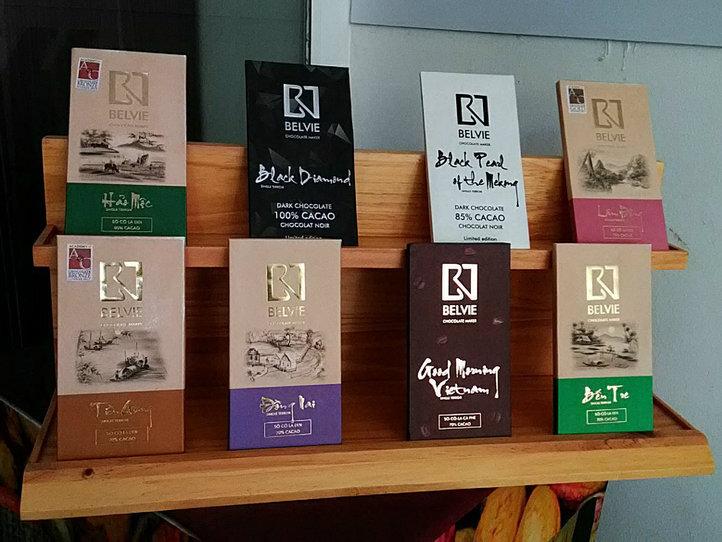 ベトナム4地域のカカオを味わう「Belvie Chocolate」