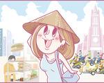 ホーチミンにハマり中!ももの旅行日記【 第1話 / 連載4コマ漫画 】
