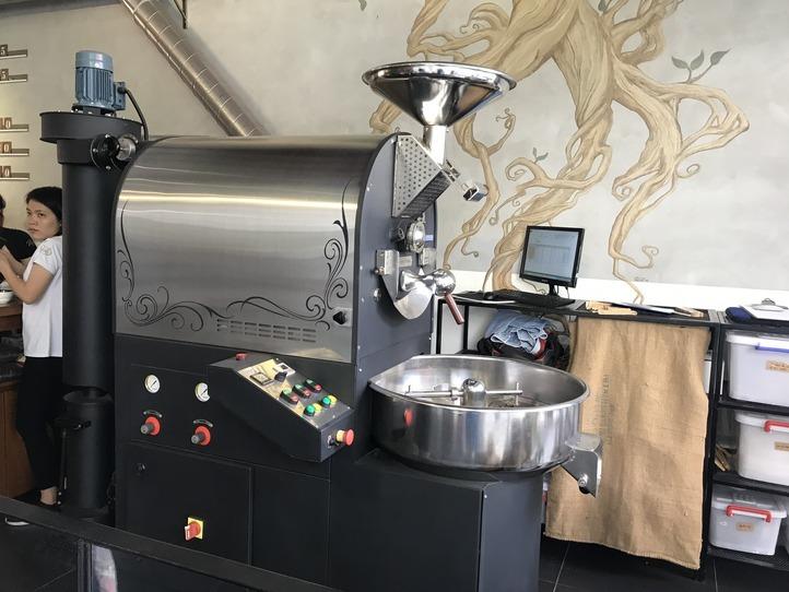 ホーチミンのカフェ