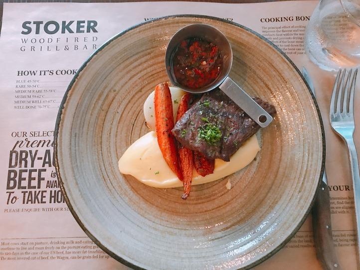 日本でブームの熟成肉!ベトナムのお得なランチで味わう~Stoker Woodfired Grill&Bar