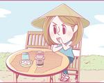 ホーチミンにハマり中!ももの旅行日記【 第15話 / 連載4コマ漫画 】