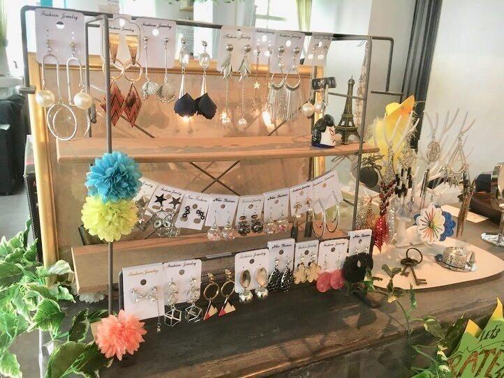 【RITA salon】ベトナム式ヘッドスパで手作りピアスをプレゼント♪