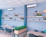 ビンズオン省にあるおいしいほうじ茶ミルクティーの専門店