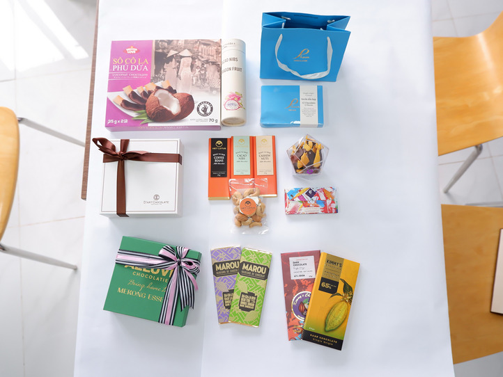 ホーチミン高島屋お土産チョコレート8選食べくらべ〜高島屋地下でチョコレートがお土産に人気〜