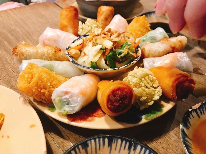 素朴なベトナムの家庭料理を味わおう!~Quan bui