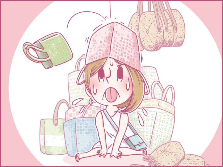 第22話 もも、ホーチミンで籠バッグ・竹のバッグ・プラカゴのショッピングに行く!