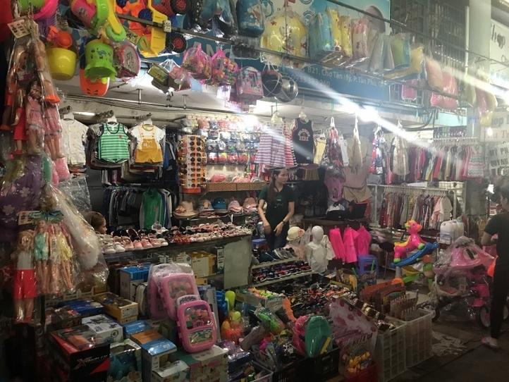 ベトナム人の生活を覗いてみよう!ローカル市場に潜入~タンミー市場