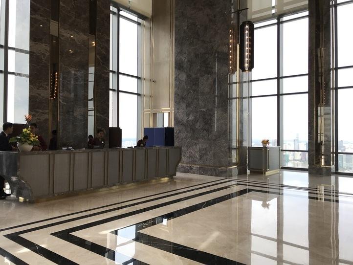 ホーチミンを一望できるベトナム最高層のビルでお茶をしよう〜Blank Lounge〜