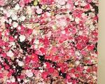 ホーチミンのアートスペース「クレイグ・トーマス・ギャラリー」の「DANCING WITH CHERRY BLOSSOMS」展