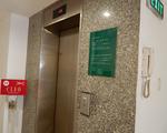 シャンバラスパ エレベーターで2階を押しましょう。スパの受付はこちらになります。