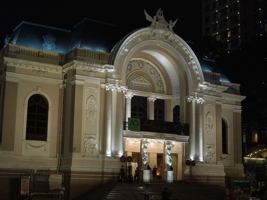 市民劇場・サイゴンオペラハウス (シミンゲキジョウ・サイゴンオペラハウス)