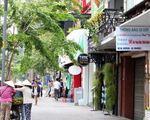 ゴックチャウガーデン 道中はホテルやカフェ、レストランなどが並んでいますので、時間があるときに立ち寄ってみてください