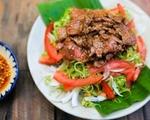 シークレットガーデン 空芯菜とビーフサラダ