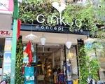 ギンコ・Tシャツ 少し歩けば左手にギンコのお店が見えてきます。目的地に到着です!