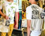 ギンコ・Tシャツ オリジナルハンドメイドバッグ(2WAYタイプ)