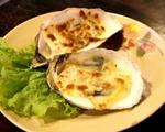 ファイブオイスターズレストラン 牡蠣のグリルチーズ