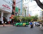 コンカフェ(ブイビエン通り店) デタム通りも同様のバックパッカー街。雑貨店、カフェ、ホテルなどが並びます