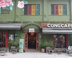 コンカフェ(マックチブオイ通り店) 先まで行くと、ハイバーチュン通りとの交差点の角っこにコンカフェがあります。