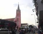 ボンスパ タンディン教会の向かい側の通りをまっすぐ進んでいきます。