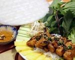 【閉店】ボンレストラン 白身魚のグリルとライスペーパー