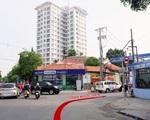 メゾン・マンドー Y字路になっている右側の道、Tran Ngoc Dien 通り(チャンゴックイエン)を進みます。