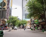 芽吹スパ そのまま直進して、チューマンチン通り(Chu Manh Trinh)を横切ります。