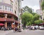 芽吹スパ そのまま直進して、タイバンルン通り(Thai Van Lung)を横切ります。