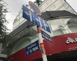 スカイスパ&ビューティー Ly tu Trong 通り (リートゥチョン通り) との交差点に差し掛かります。