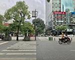 サワデカ・スパ 大通りNguyen Hue (グエンフエ通り)に出ます。斜め左に見える、横断歩道を渡りましょう。