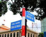 スパ・インターコンチネンタル 聖母マリア教会向いを走る通りはグエンユー(Nguyen Du)通りと呼ばれています。こちらを進みます。教会を背にして左方面です!右へ行くと統一会堂方面なのでお気をつけ下さい。逆ですよ!