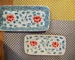 ユエン・ホーム 長方形バッチャン焼き平皿(小)