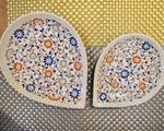 ユエン・ホーム 雫型バッチャン焼き平皿(小)