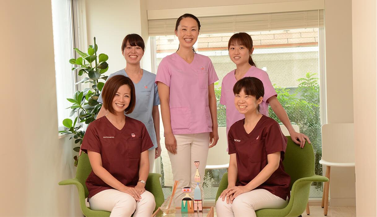 松本デンタルクリニック歯科医師、助手の皆さま