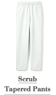 Scrub Tapered Pants