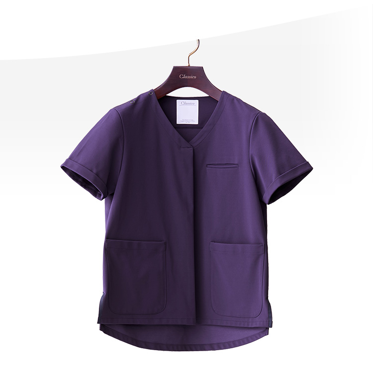 Jersey Scrub Tops LUXE