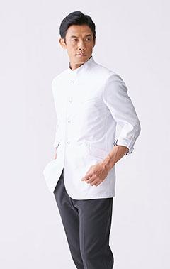 メンズ白衣:ケーシージャケット