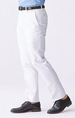 メンズ白衣:ストレッチチノ