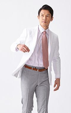 メンズ白衣:テーラードジャケット・ドライ