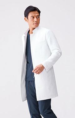 メンズ白衣:アーバンジップコート