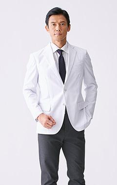 メンズ白衣:テーラードジャケット