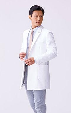 メンズ白衣:アーバンショートコート