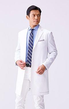 メンズ白衣:ジャージーコート