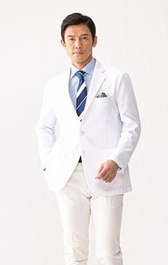 メンズ白衣:ジャージージャケット