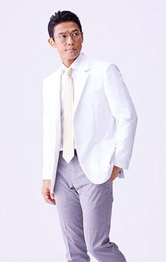 メンズ白衣:アーバンジャケット