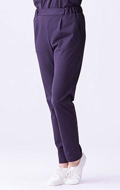 レディース手術衣:ジャージースクラブパンツ・LUXE
