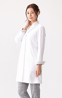 レディース白衣:ジャージーコート