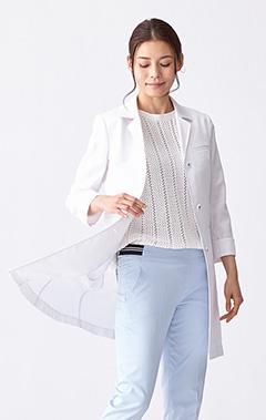 レディース白衣:サマーコート・ドライ
