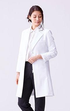 レディース白衣:アーバントレンチコート