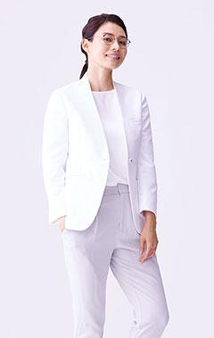 レディース白衣:アーバンジャケット